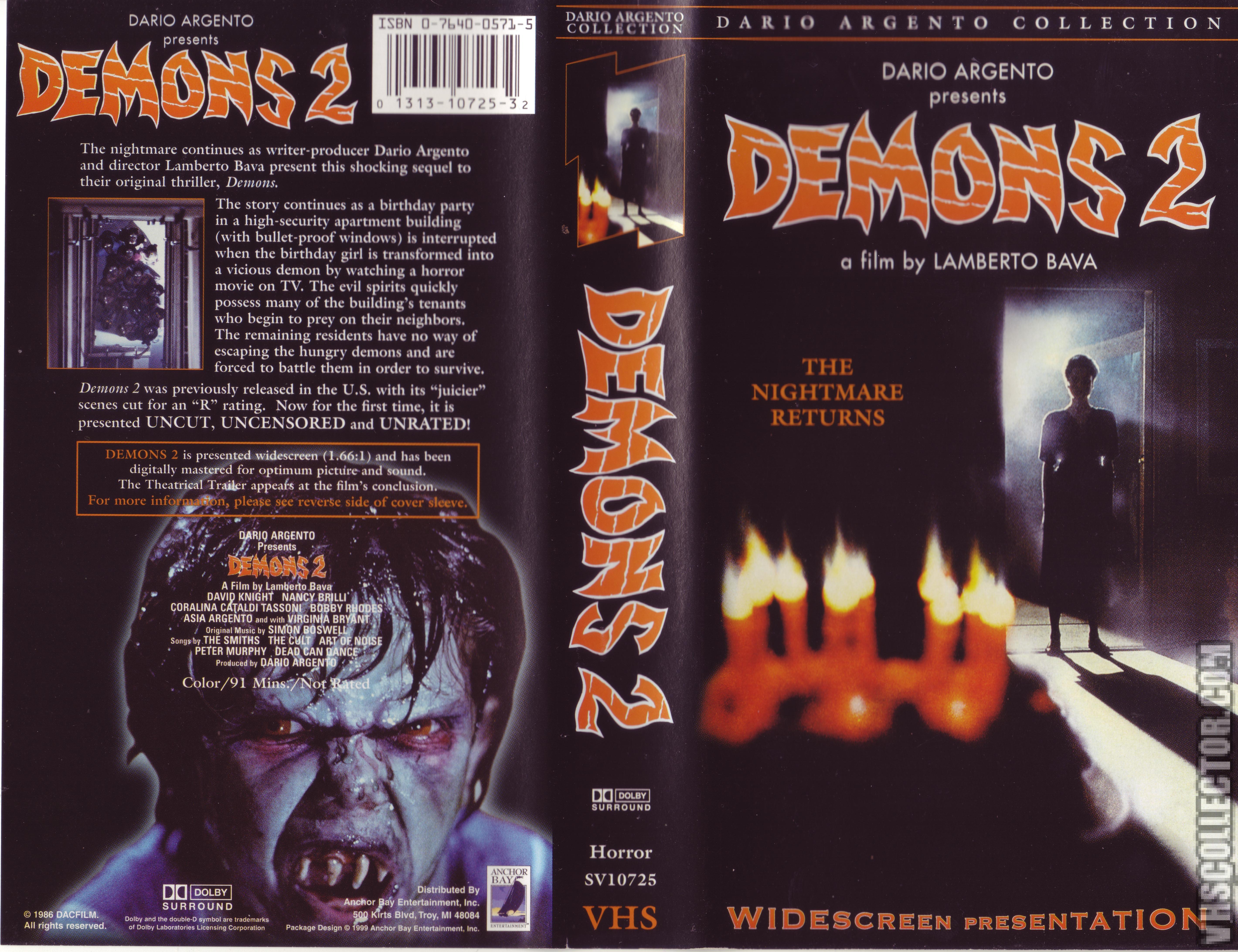 Demons 2 | VHSCollector.com